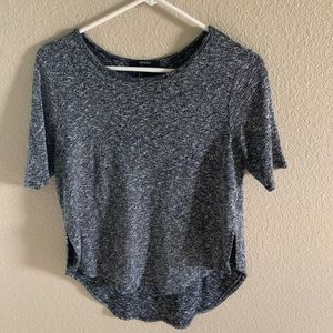 Tops - dark grey forever 21 thick top size small